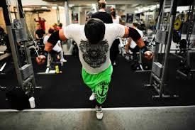 trångt på gymmet